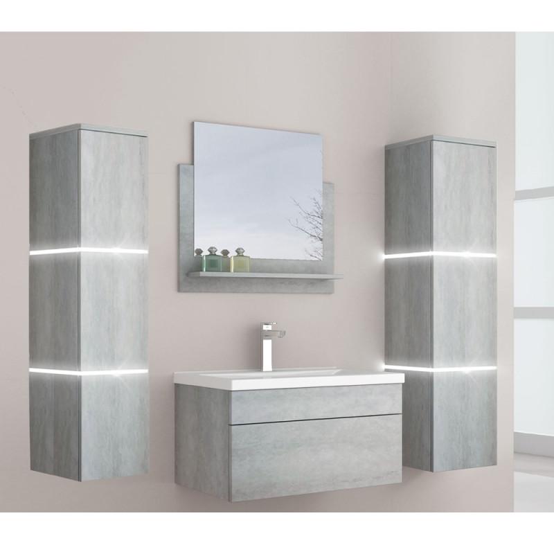 Badmöbel Wangerooge BIG XL - Grau