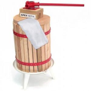 24 Liter Obstpresse + Obstmühle 7 Liter-3