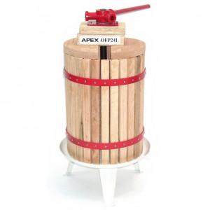 24 Liter Obstpresse + Obstmühle 7 Liter-5