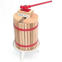 24 Liter Obstpresse + Obstmühle 7 Liter-7