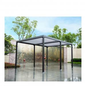 Lamellenpavillon CANNES - 400x303x223cm-1