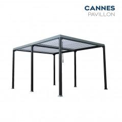 Lamellenpavillon CANNES - 400x303x223cm-3