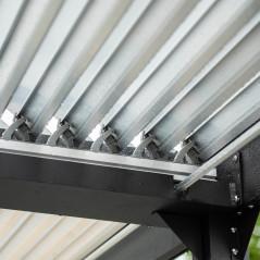 Lamellenpavillon CANNES - 400x303x223cm-5