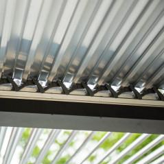 Lamellenpavillon CANNES - 400x303x223cm-7