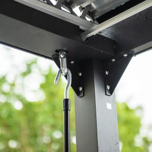 Lamellenpavillon CANNES - 400x303x223cm-9