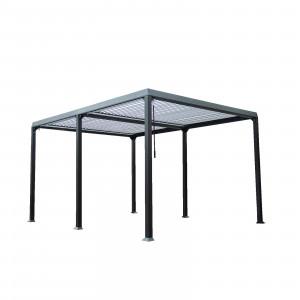 Lamellenpavillon CANNES - 400x303x223cm-13