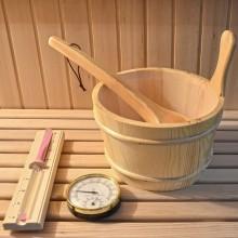 Traditionelle Sauna Skyline XL-7