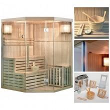 Traditionelle Sauna Skyline XL-3