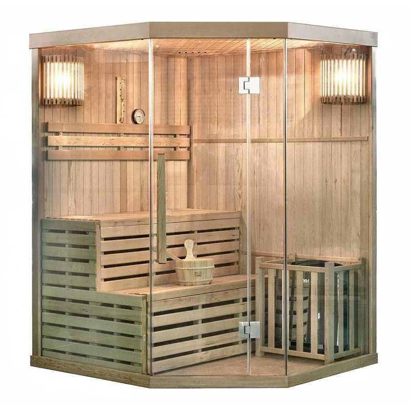 Traditionelle Sauna Skyline XL