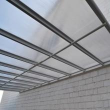 Terrassenüberdachung 495 x 303 x 226 / 278 cm (Weiss)-7