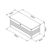 Metallaufbewahrungsbox Megabox XXL 600L-15