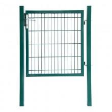 Doppelstabmatten Gartentor grün - 1600 mm-3