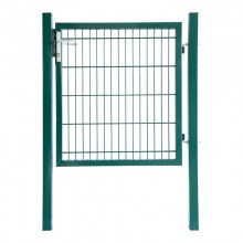 Doppelstabmatten Gartentor grün - 2000 mm-3