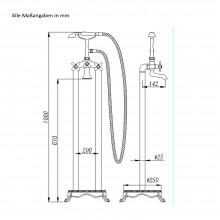 Design Standarmatur RETRO-9