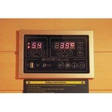 Infrarotsauna Redsun M Deluxe mit Vollspektrumstrahler-13